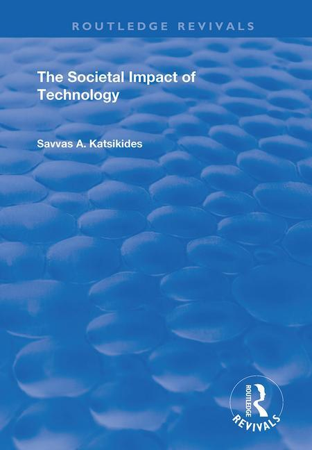 The Societal Impact of Technology book cover