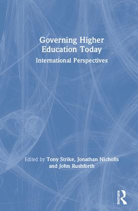 Changing university governance in South Africa