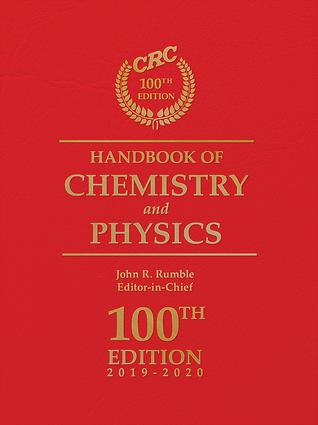 CRC Handbook of Chemistry and Physics, 100th Edition book cover