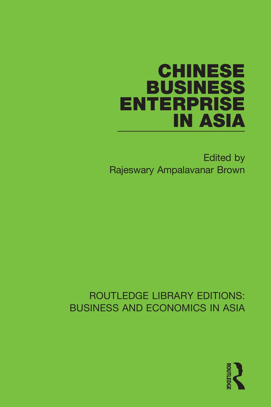 Chinese Business Enterprise in Asia book cover