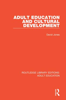 Adult Education and Cultural Development book cover