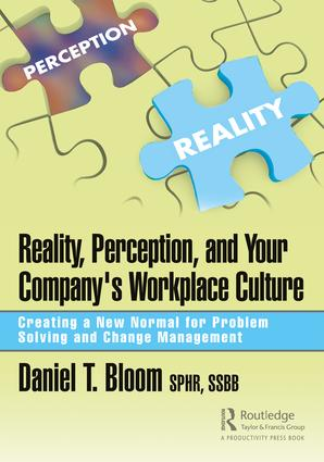 Reality, Perception, and Your Company's Workplace Culture: Creating a New Normal for Problem Solving and Change Management book cover