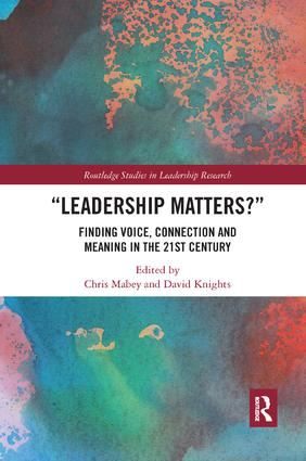 Leadership Matters: Finding Voice, Connection and Meaning in the 21st Century book cover