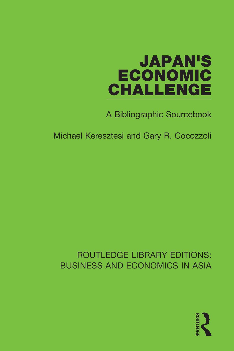 Japan's Economic Challenge: A Bibliographic Sourcebook book cover