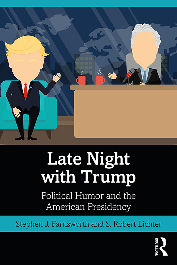 Late Night with Trump: Political Humor and the American Presidency book cover