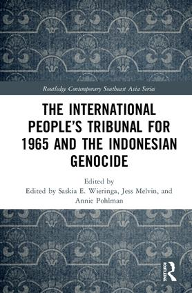 The International People's Tribunal for 1965 and the Indonesian Genocide book cover