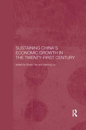 Sustaining China's Economic Growth in the Twenty-first Century