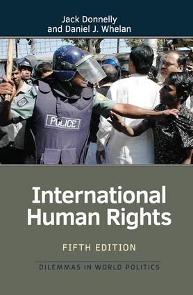 International Human Rights: 5th Edition (Hardback) book cover