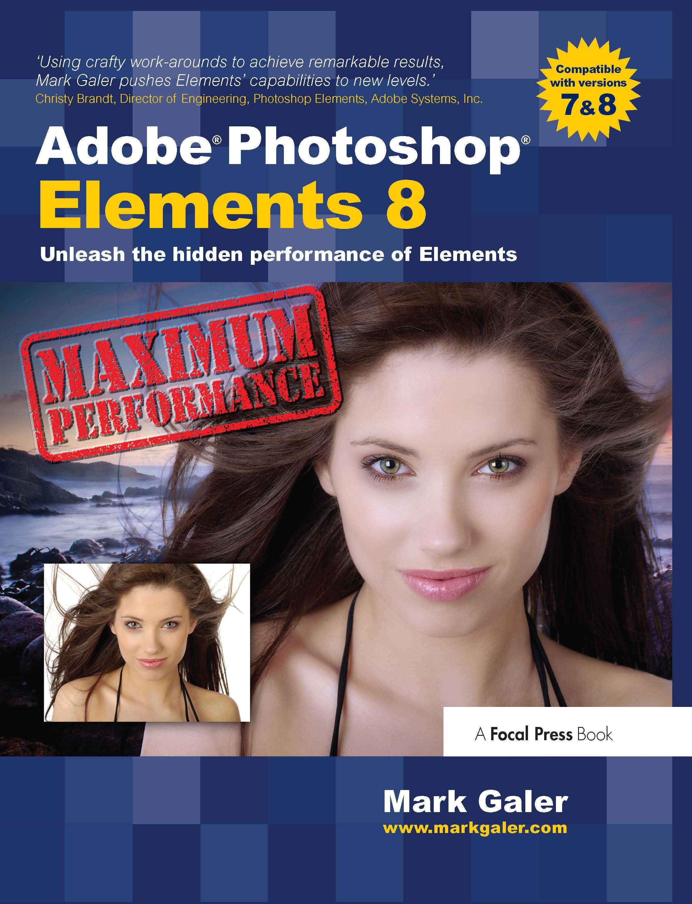 Adobe Photoshop Elements 8: Maximum Performance: Unleash the hidden performance of Elements book cover