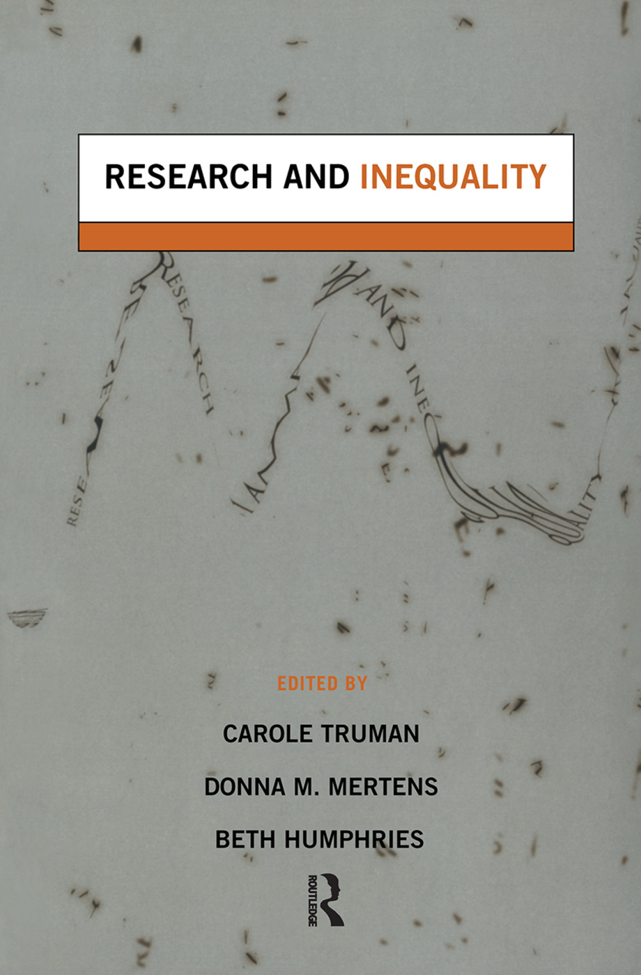 Research and Inequality: 1st Edition (Paperback) book cover
