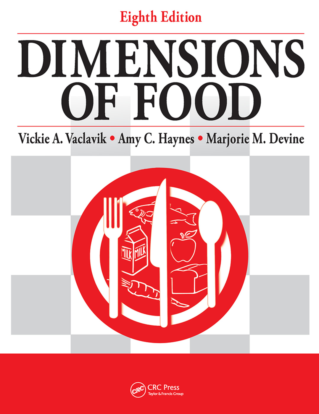 Dimensions of Food: 8th Edition (Hardback) book cover