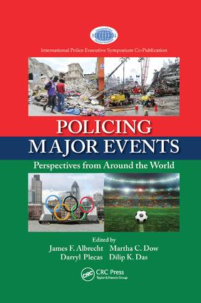 Policing Major Events: Perspectives from Around the World book cover