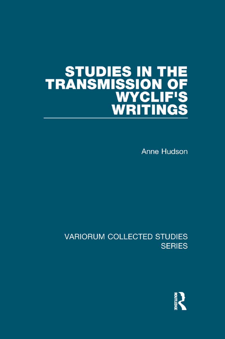 Studies in the Transmission of Wyclif's Writings book cover