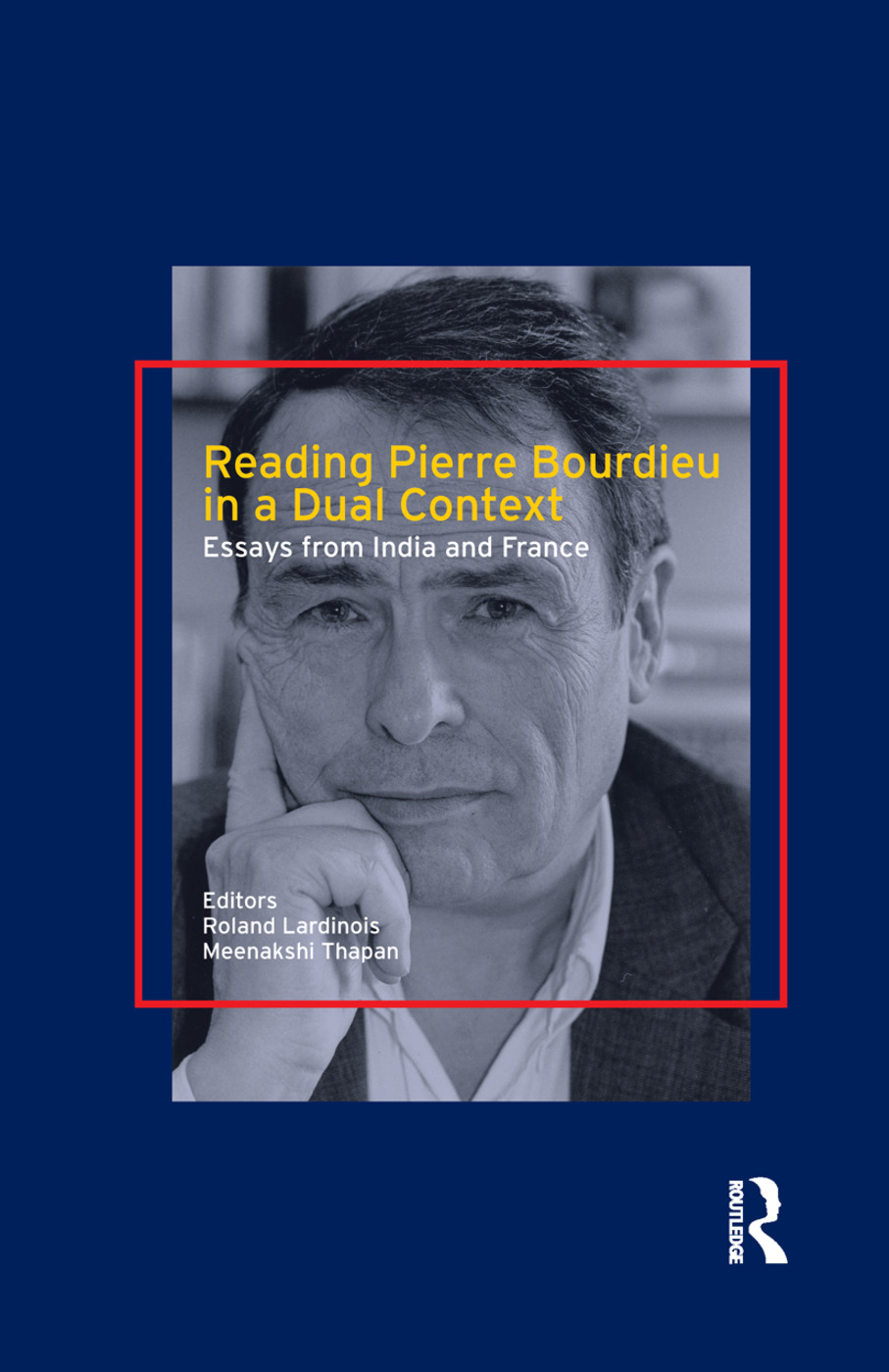 Reading Pierre Bourdieu in a Dual Context: Essays from India and France, 1st Edition (Paperback) book cover