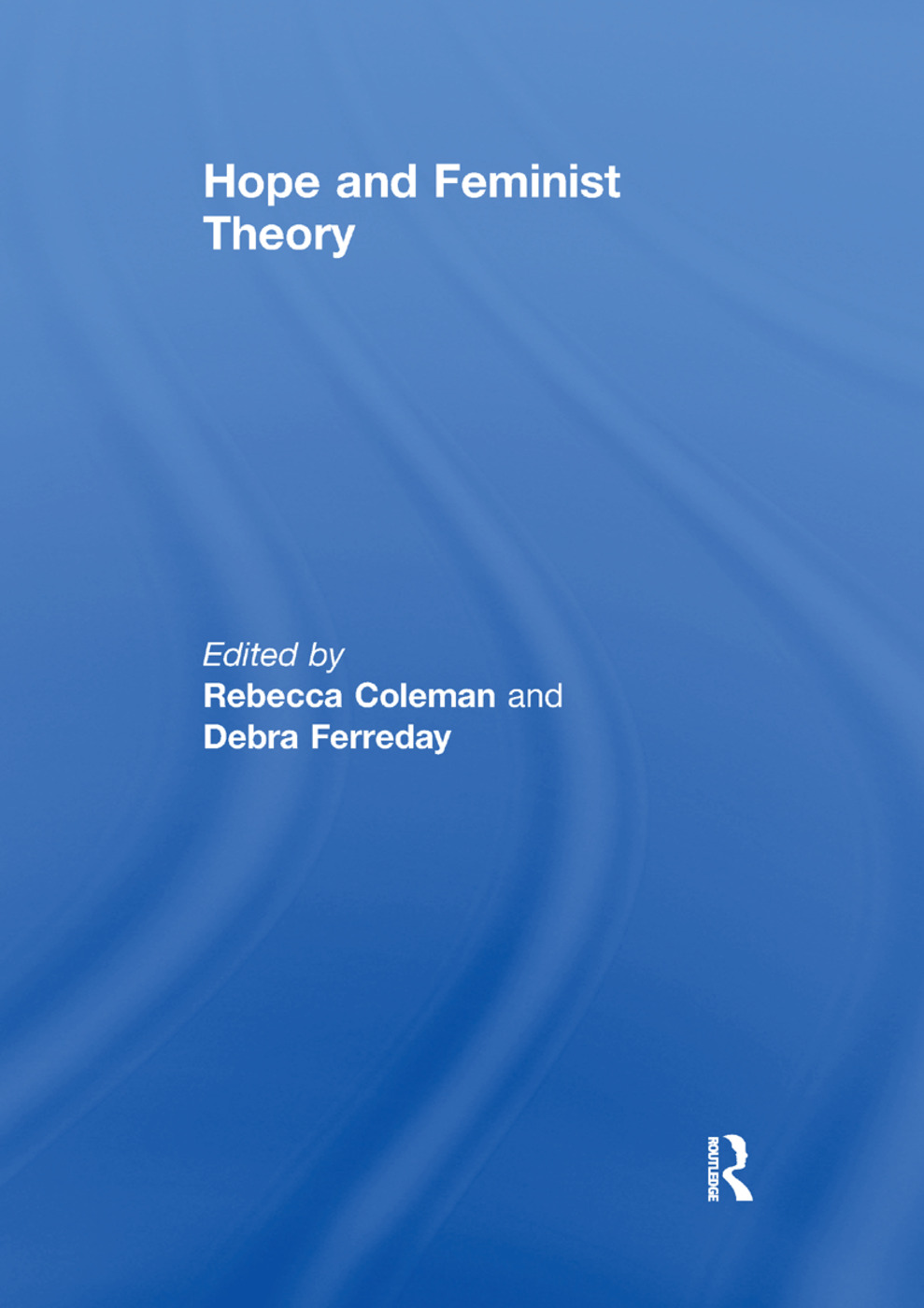 Hope and Feminist Theory book cover