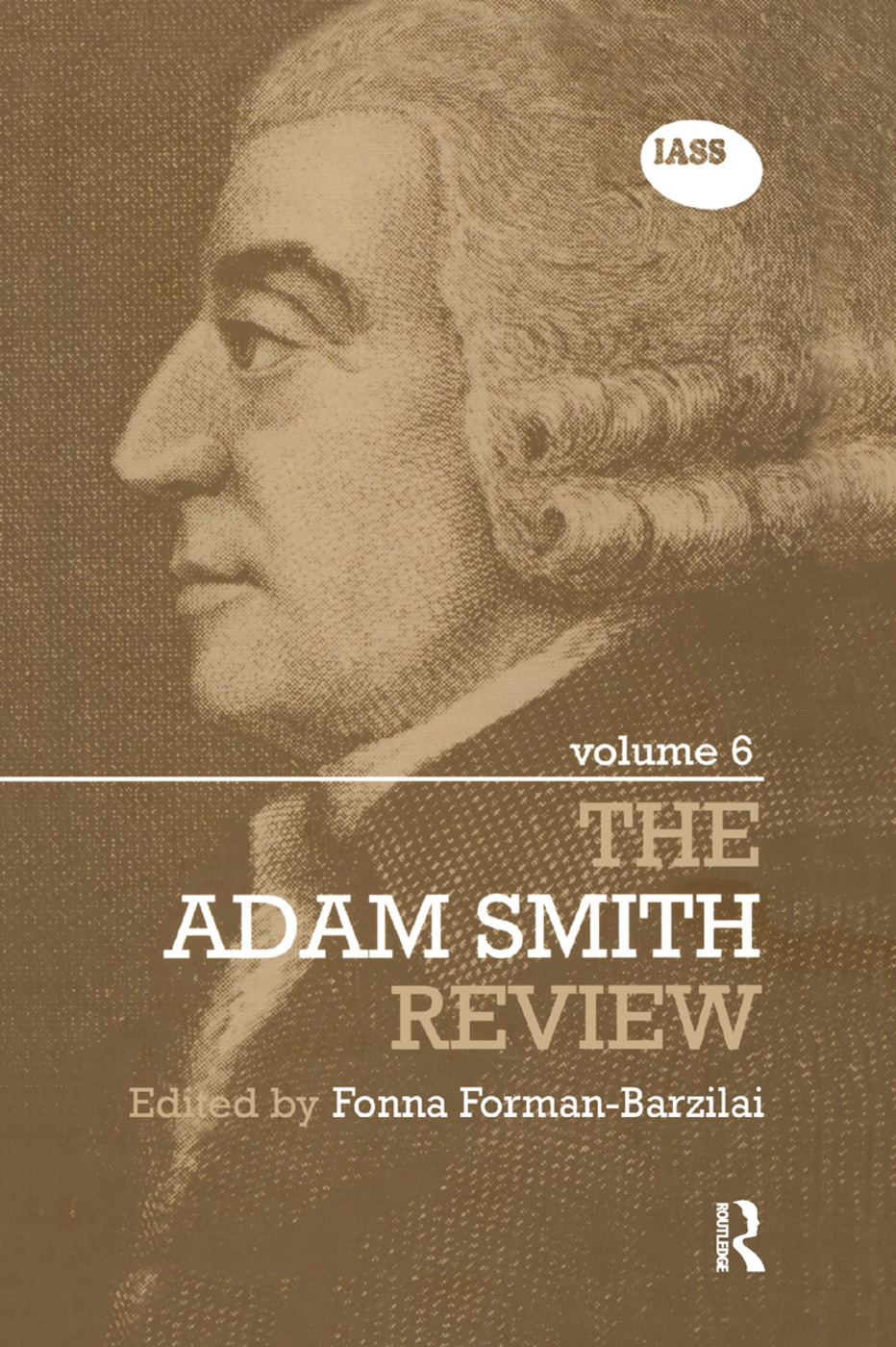The Adam Smith Review Volume 6: 1st Edition (Paperback) book cover