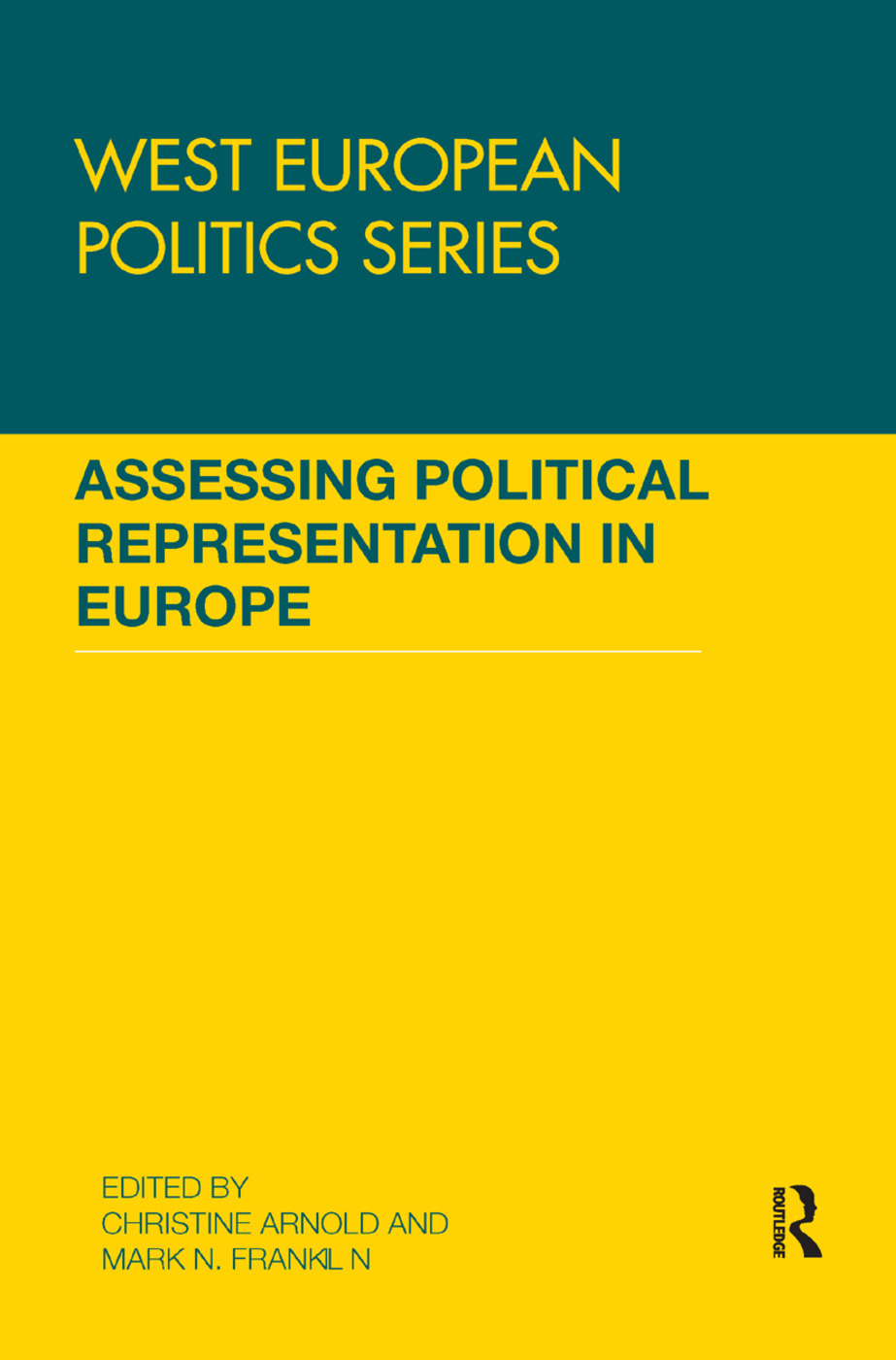 Assessing Political Representation in Europe: 1st Edition (Paperback) book cover