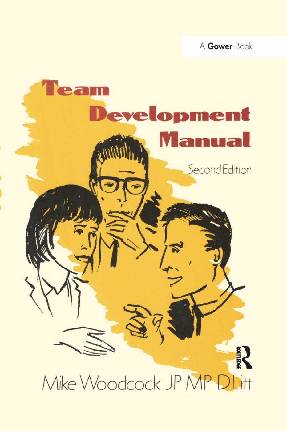 Team Development Manual book cover