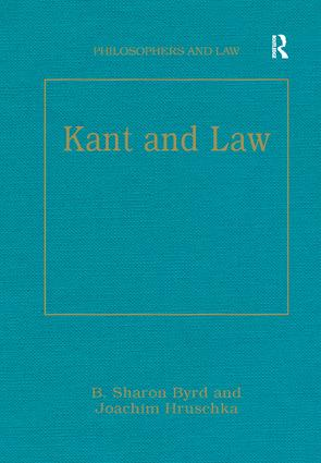 Kant and Law