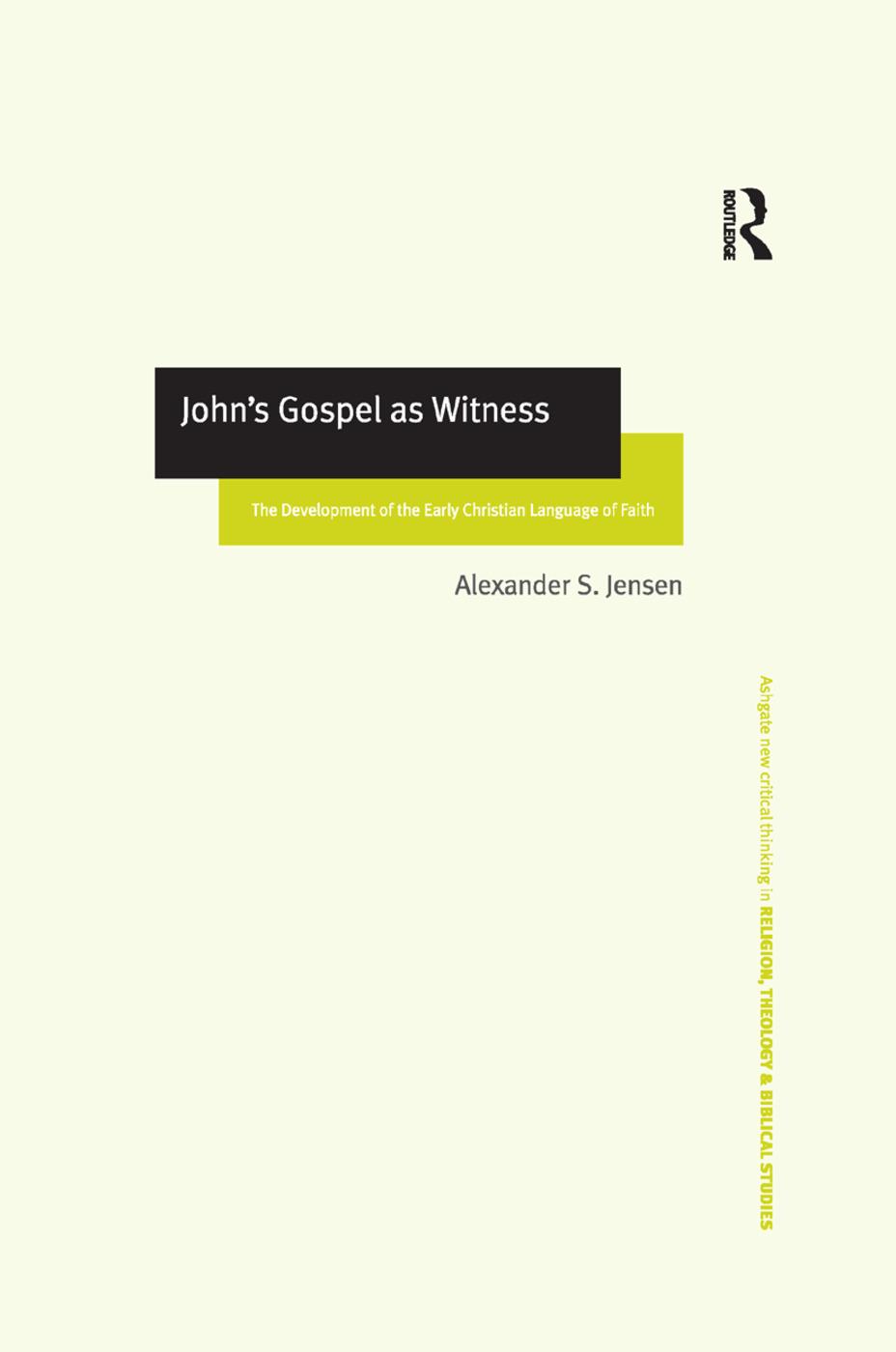 John's Gospel as Witness