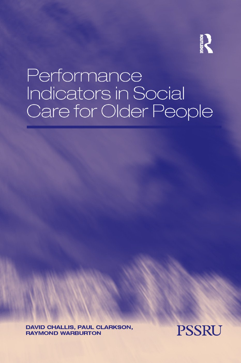 Performance Indicators in Social Care for Older People book cover