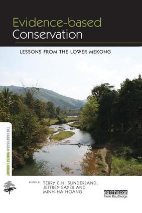 Evidence-based Conservation: Lessons from the Lower Mekong book cover