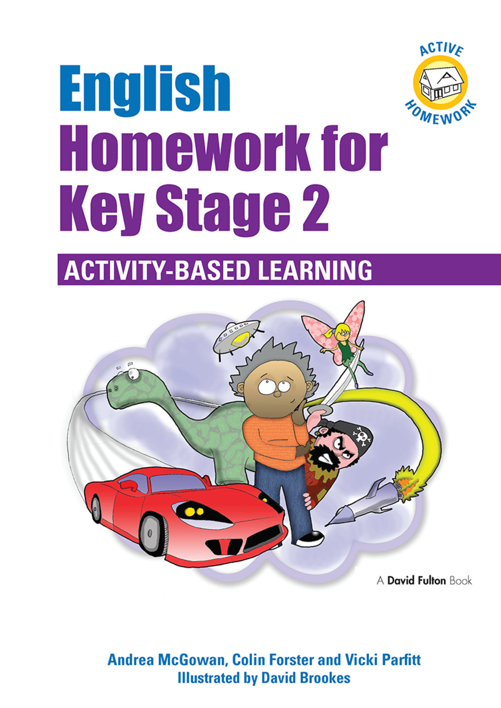 English Homework for Key Stage 2: Activity-Based Learning, 1st Edition (Hardback) book cover