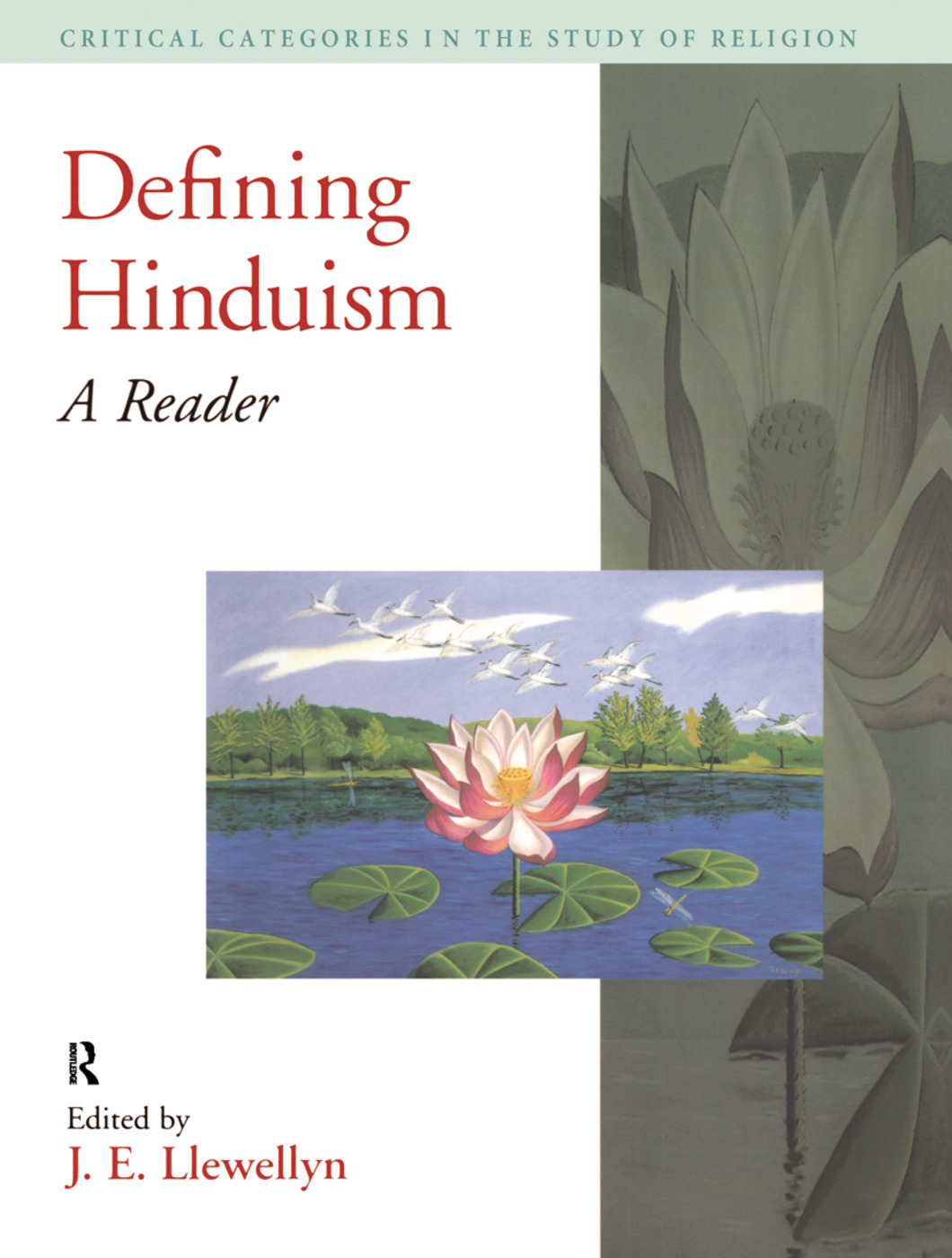 Defining Hinduism: A Reader, 1st Edition (Hardback) book cover