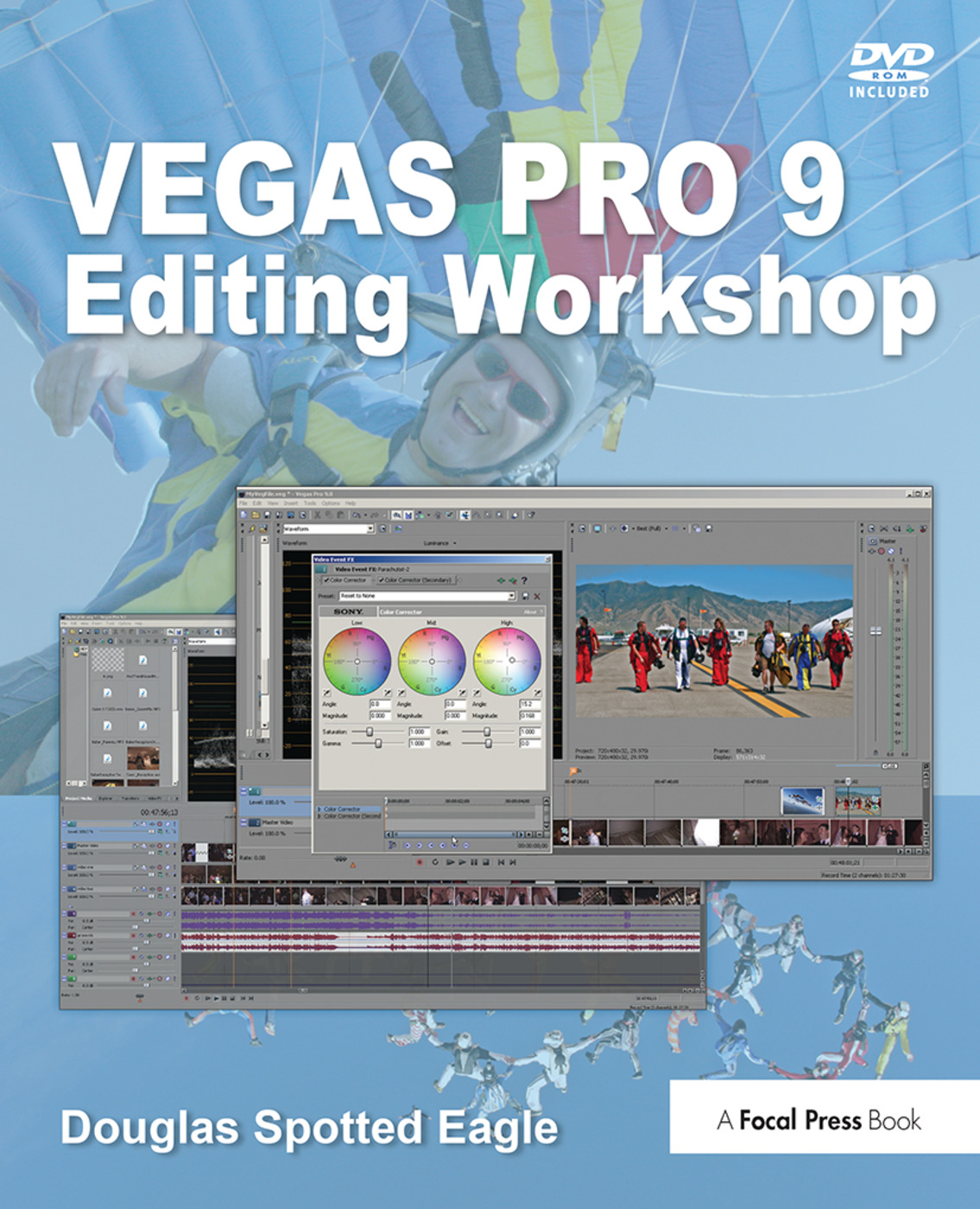 Vegas Pro 9 Editing Workshop book cover