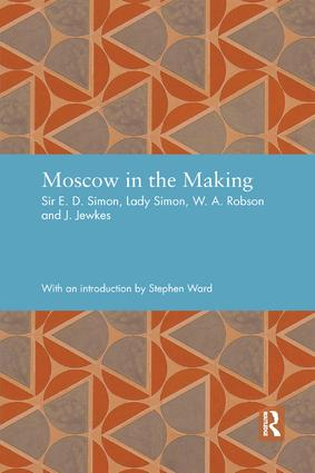 Moscow in the Making: 1st Edition (Paperback) book cover