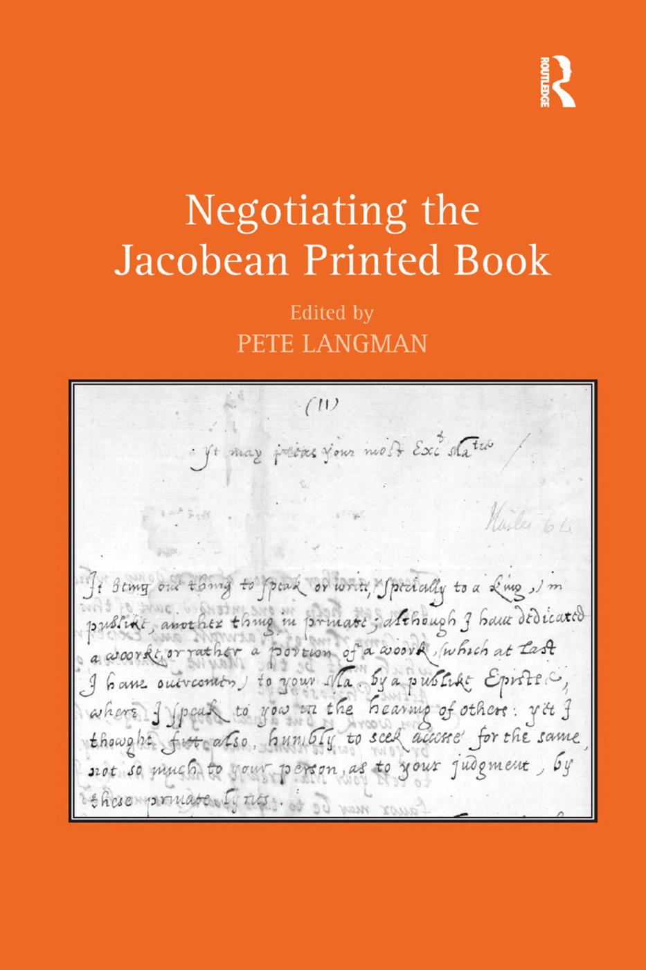 Negotiating the Jacobean Printed Book: 1st Edition (e-Book) book cover