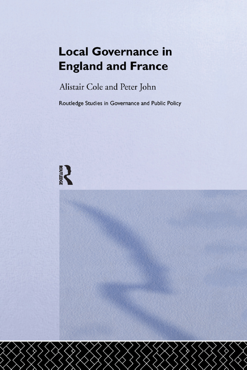 Local Governance in England and France book cover