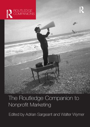 The Routledge Companion to Nonprofit Marketing: 1st Edition (Paperback) book cover