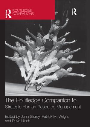 The Routledge Companion to Strategic Human Resource Management: 1st Edition (e-Book) book cover