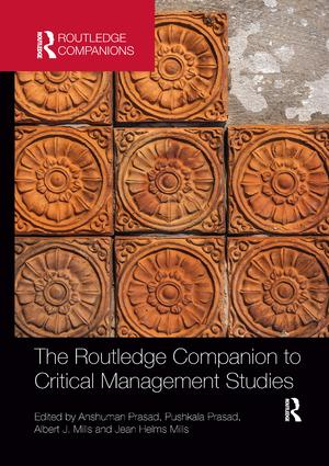 The Routledge Companion to Critical Management Studies: 1st Edition (Paperback) book cover