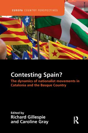 Contesting Spain? The Dynamics of Nationalist Movements in Catalonia and the Basque Country: 1st Edition (Paperback) book cover