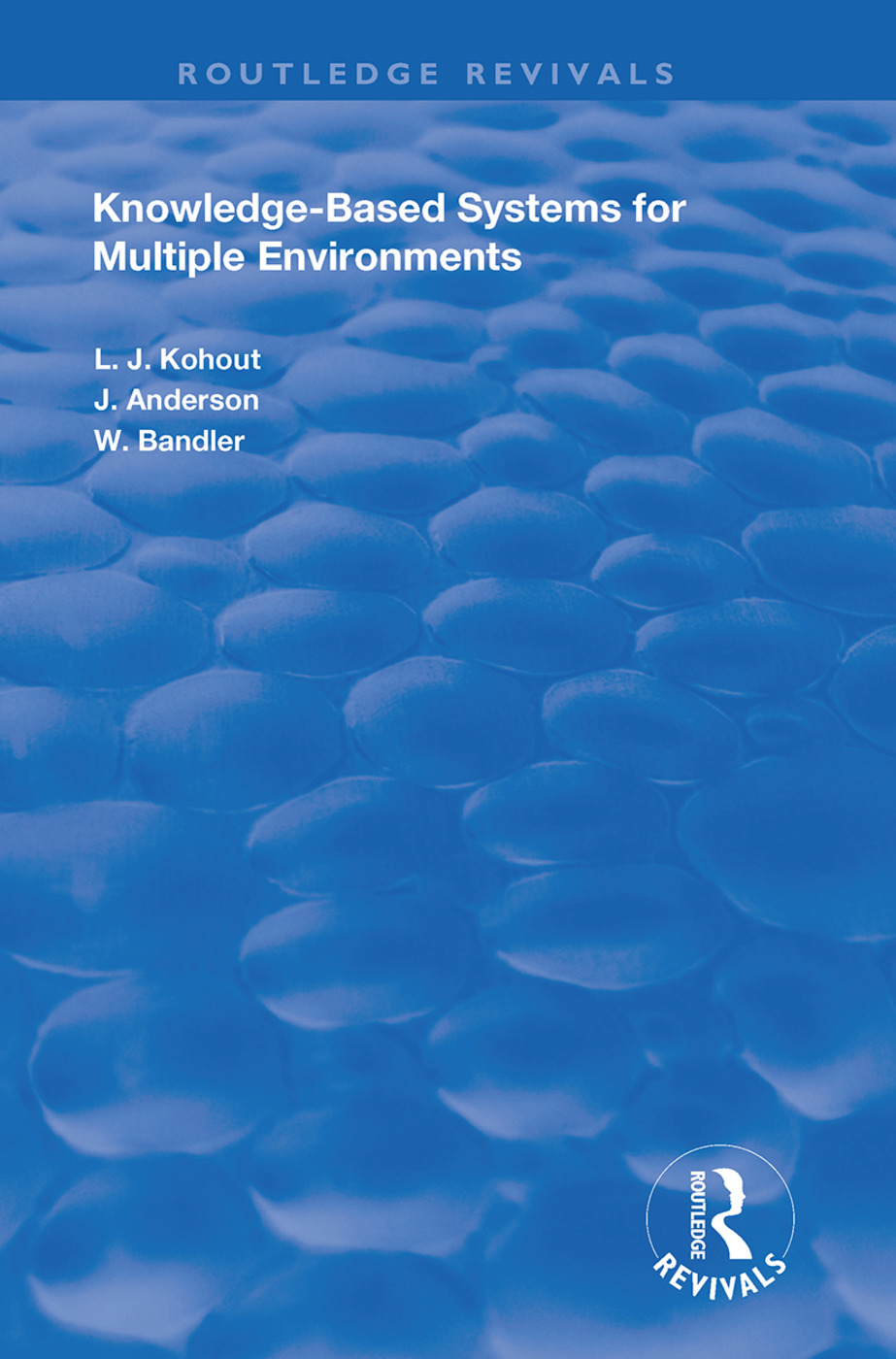 Knowledge-Based Systems for Multiple Environments: 1st Edition (Paperback) book cover