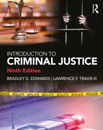 Introduction to Criminal Justice: 9th Edition (Paperback) book cover