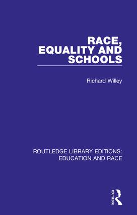 Race, Equality and Schools book cover