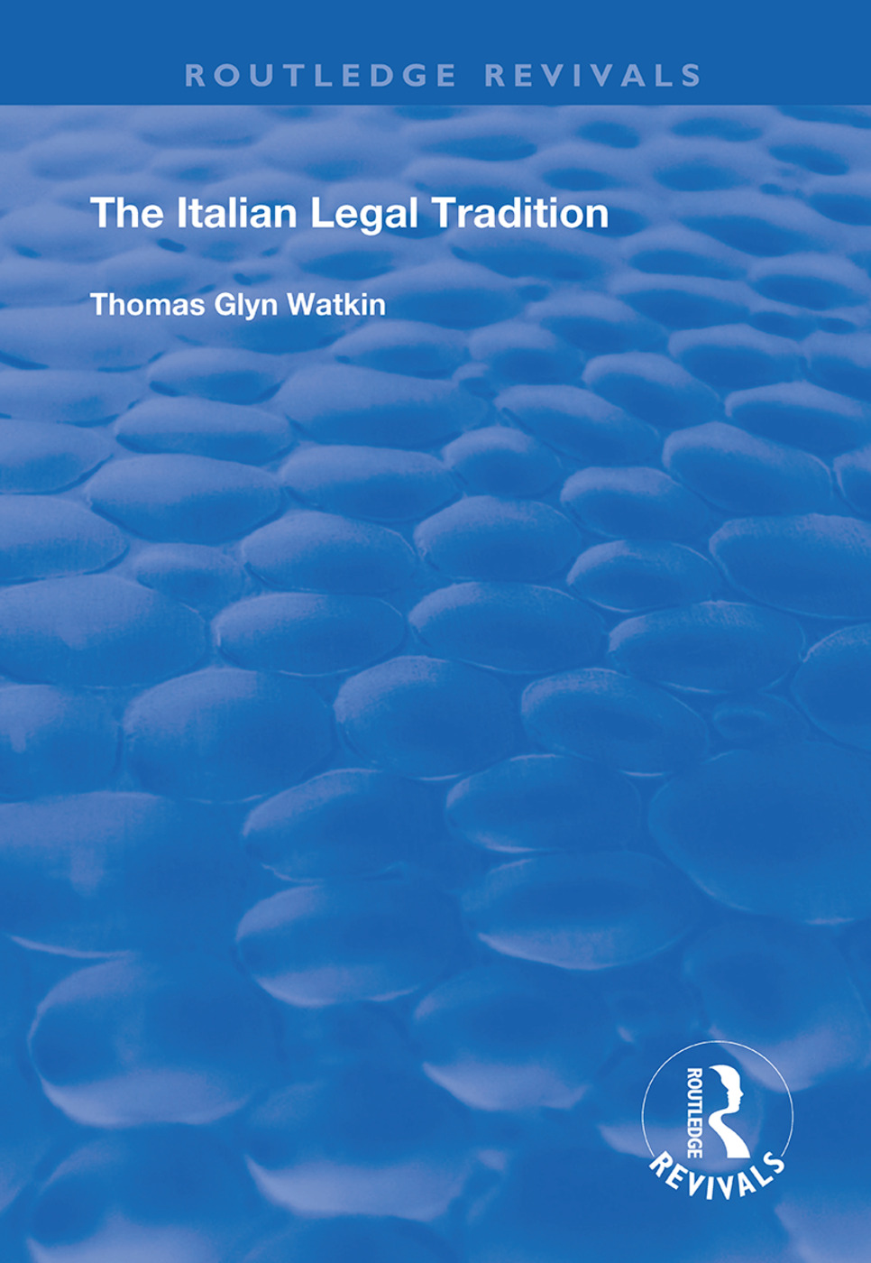 The Italian Legal Tradition book cover