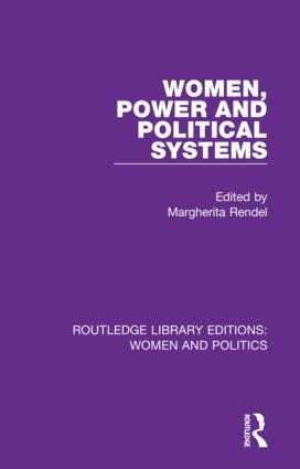 Women, Power and Political Systems: 1st Edition (Hardback) book cover