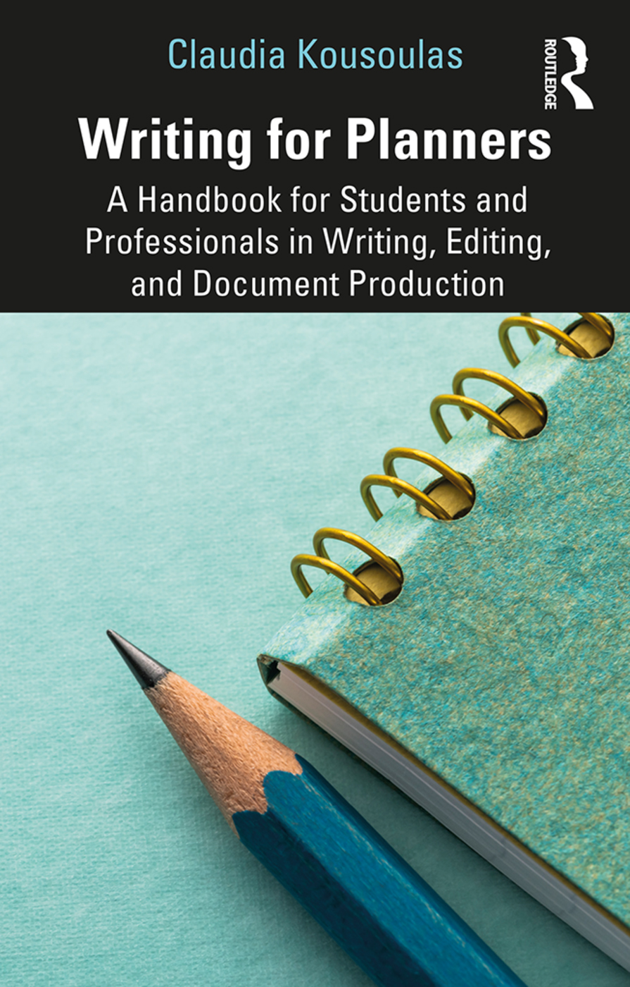 Writing for Planners: A Handbook for Students and Professionals in Writing, Editing, and Document Production book cover