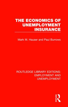 The Economics of Unemployment Insurance book cover