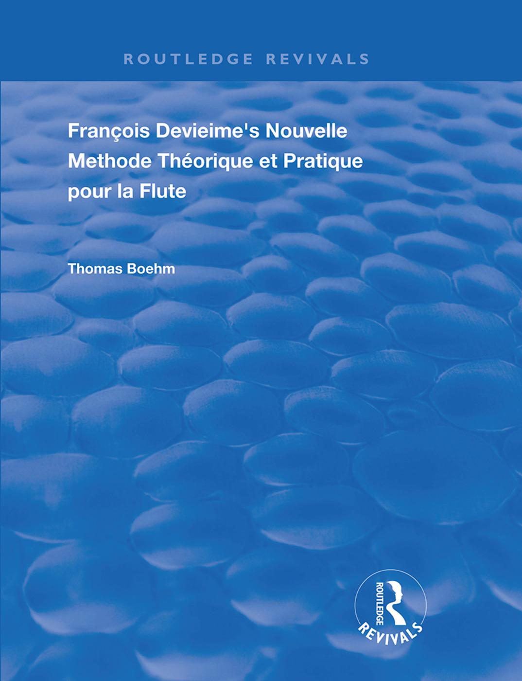 Francois Devienne's Nouvelle Methode Theorique et Pratique Pour la Flute: 1st Edition (Hardback) book cover