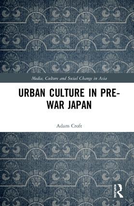 Urban Culture in Pre-War Japan book cover