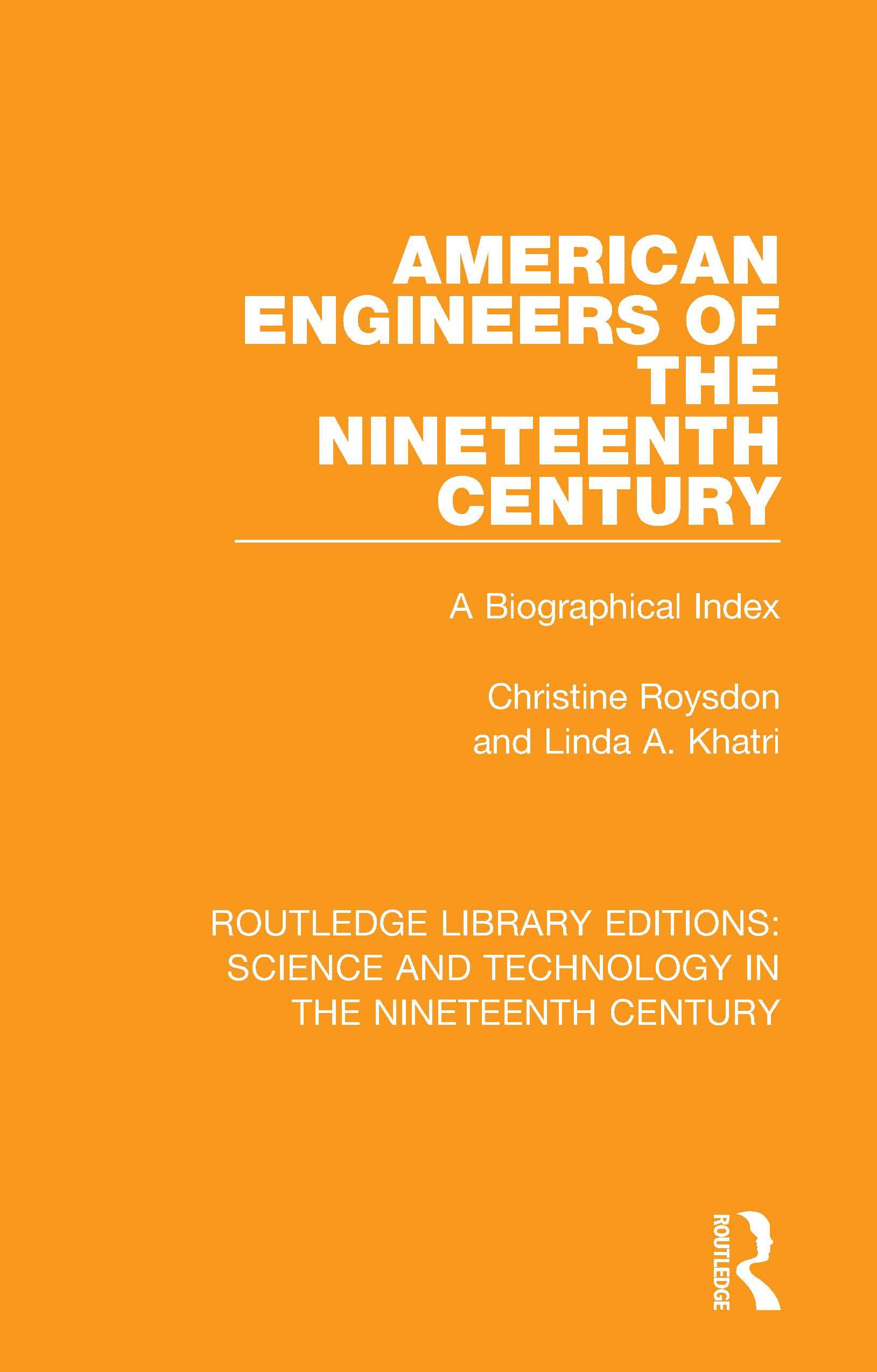 American Engineers of the Nineteenth Century