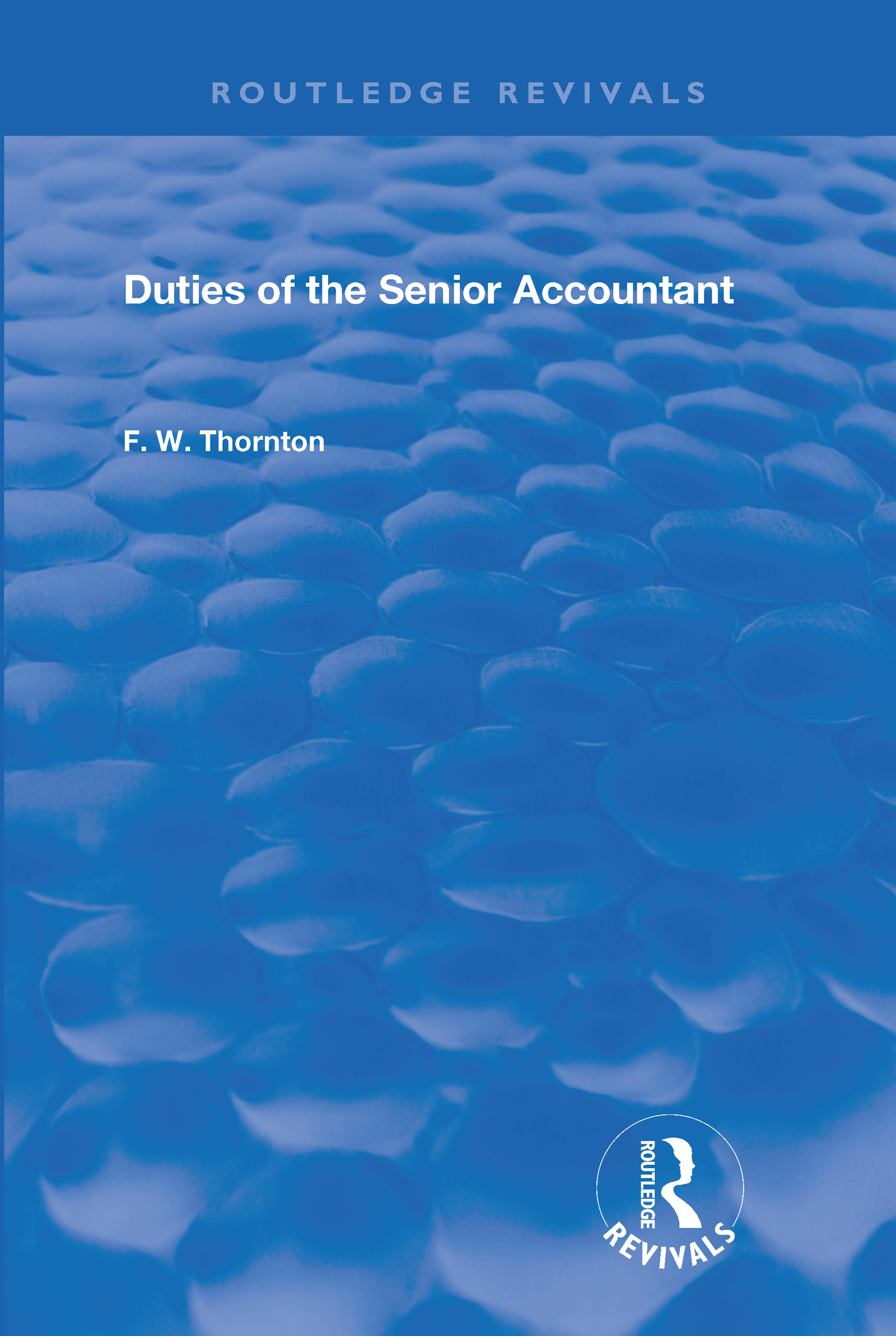 Duties of the Senior Accountant