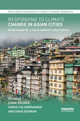 Responding to Climate Change in Asian Cities: Governance for a more resilient urban future book cover