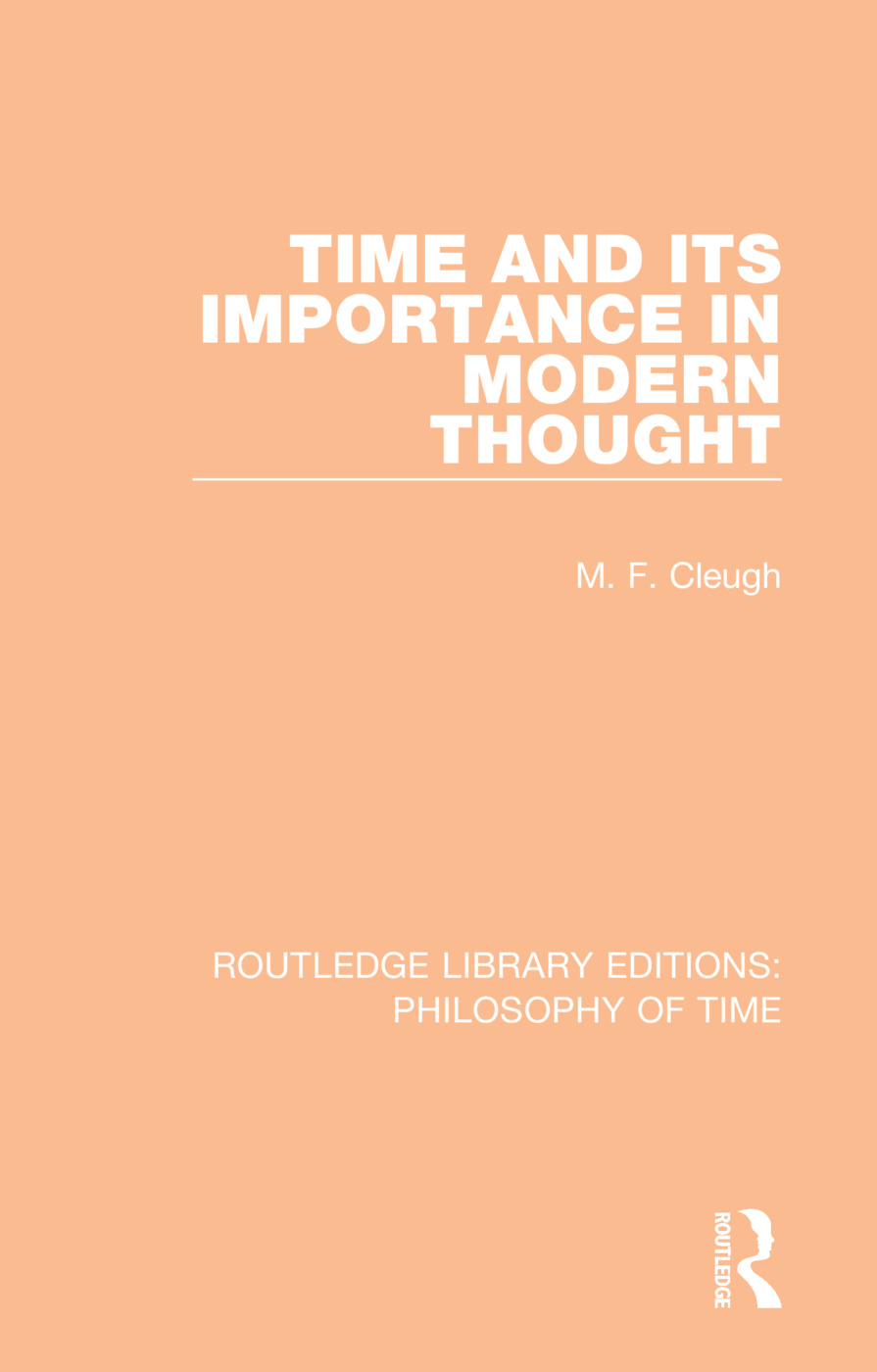 Time and its Importance in Modern Thought book cover