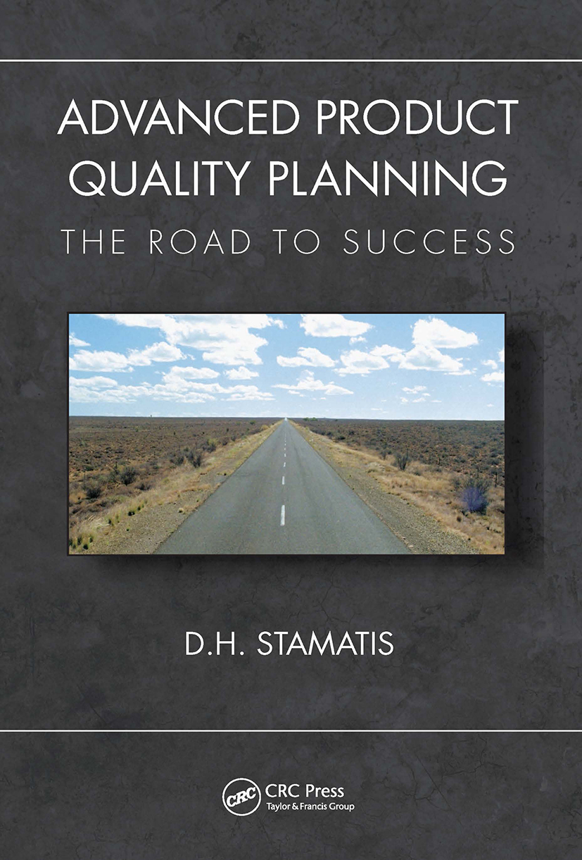 Advanced Product Quality Planning: The Road to Success book cover